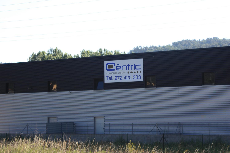 Nau de Cèntric Plagues - Control i prevenció de plagues a Girona i Barcelona